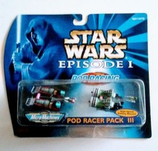 Star Wars Episode I Pod Racer Pack Iii Galoob 1999 New - $12.99