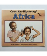 Count Your Way Through Africa By Jim Haskins Paperback Book - $8.48