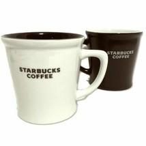 Starbucks Flair Top 2008 Brown 2009 White Mugs 16oz - $51.00