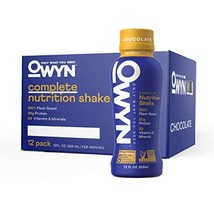OWYN - 100% Vegan Plant-Based Meal Replacement Shakes | Chocolate, 12 Fl... - $46.46