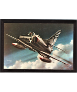 """4"""" X 6"""" Wooden Plaque with a Print of a McDonnell Douglas A-4 (SKYHAWK) - $7.87"""