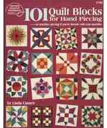 Quilt Book: 101 Quilt Blocks for Hand Piecing o... - $7.87