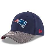 New England Patriots New Era 39Thirty Draft Reverse L/XL Flexfit Cap Hat - $28.79
