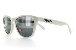 Oakley Frogskins POLARIZED Sunglasses OO9013-13 Cloud Frame W/ Black iri... - $79.19