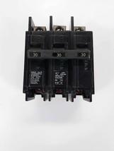 Siemens BQ3B030 Circuit Breaker 30A 3P 240V   - $28.13