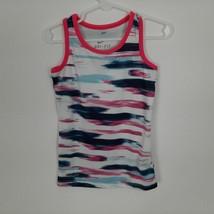 Nike Dri-fit Girls Tank Top Size 4 Multicolor XB13 - $7.91