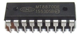 5PCS Mitel MT8870DE MT8870 - Integrated DTMF Receiver - DIP-18 New IC - $16.81