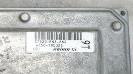 06-08 Honda Civic 1.8 A/T ECU PCM Engine Computer & Immobilizer 37820-RNA-A64 image 5
