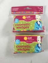 Cosmetic Makeup Wedges Sponges - Just Because Daily Essentials Latex-Fre... - $10.10