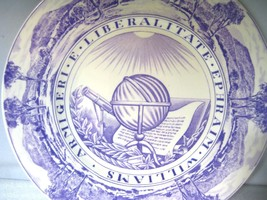 Wedgwood Williams College Dinner Plate Purple College Seal  - $44.96