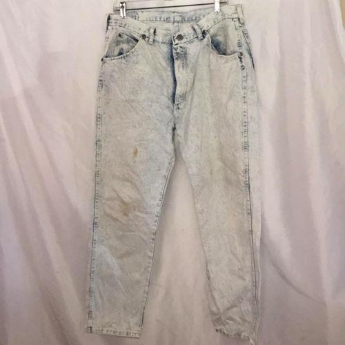 2896d3e6 Vintage Wrangler Acid Wash sz 29 X 32 Jeans and 50 similar items