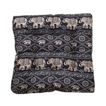 Square Soft Floor Cushions Japanese Style Tatami Pillows(21.6 inches,A21) - $35.12