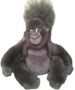 "Disney Store Tarzan TERK Gray Gorilla Ape Plush 9"" Beanbag Movie Collect... - $13.12"