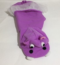 Purple Dancing Hippo Dog Halloween Costume Sz L - €12,27 EUR