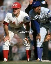 MLB 1961 Cincinnati Reds Pete Rose Chicago Cubs Ernie Banks Color 8 X 10... - $6.99