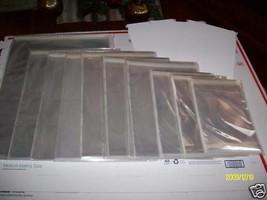 6 pc 20 X 20 ACID FREE ARCHIVAL STORAGE CELLOPHANE ENVELOPE W FLAP SEAL ... - $26.72