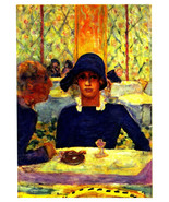Pierre Bonnard 1944 LITHOGRAPH w/COA Stylish, Elegant Casino BONNARD RAR... - $179.92