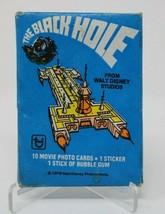 The Black Hole Walt Disney Trading Card Wax Pack Sealed Vintage 1979 - $1.48