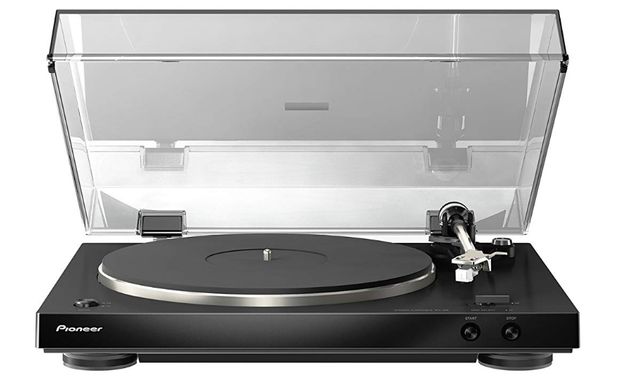 Pioneer PL-30-K Dual-Layered Chassis Built-in Phono Equalizer Stereo Turntable
