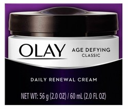 OLAY Age Defying Classic Daily Renewal Cream 2 oz by Olay - $13.09