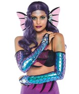 Iridescent Dark Mermaid Kit Headband & Fin Armpieces by Leg Avenue™#a2849 - $30.18 CAD