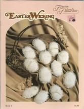 Easter Wicking Forever Friends Needlework Designs Easter Egg Candlewicki... - $5.99