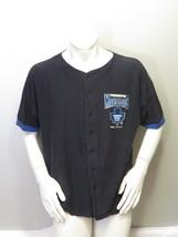 Toronto Maple Leafs Baseball Jersey (VTG) - Blue Pin Stripe Ravens Knit - Mens L - $65.00
