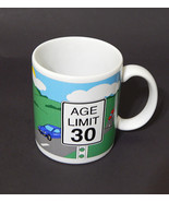 Papel Signs of Aging Age Limit 30 Novelty 30th Birthday Ceramic Coffee ... - $11.99