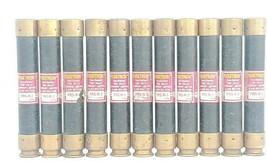 LOT OF 11 COOPER BUSSMANN FRS-R-3 FUSETRON TIME DELAY FUSES FRSR3