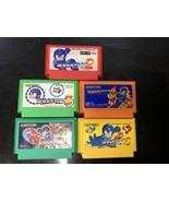 CAPCOM Rockman 2 3 4 5 6 Mega Man Game Set For Nintendo Family Computer ... - $94.75