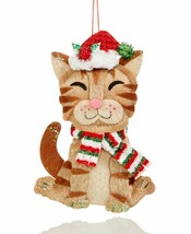Holiday Lane Pets Smiling Cat Ornament - $9.90