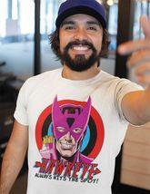 Hawkeye  HTS T shirt Marvel West Coast Avengers comic book retro graphic tee image 3