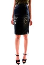 One Teaspoon Women's Cowboy Freelove Pencil Skirt Size 24 Blue RRP $126 ... - $88.10