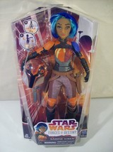 "NEW DISNEY STAR WARS FORCES OF DESTINY SABINE WREN 11"" DOLL HASBRO 2016 - $14.65"