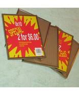 """FRAMES  5 gold metal 8 x 10"""" no hangers (Nclst A) - $8.60"""