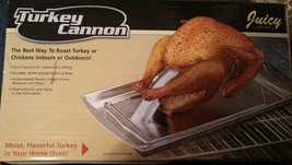 Turkey Cannon Cylinder Infusion Roaster Roast Turkey Chicken Poultry Win... - $12.69