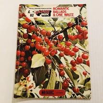 EZ Play Music Book Romantic Ballads And One Waltz Organ Piano Guitar Vol... - $7.92