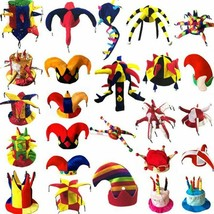 Clown Hat Colorful Funny Circus Clown Party Kids Caps Cosplay Props Part... - $15.97