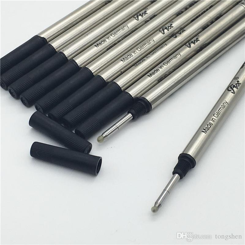 Luxury high quality 6 PCS a lot black M710 mb pen refill for roller ball pen