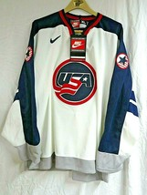 NEW Nike Team USA White Hockey Jersey Men's Size XL with Tags - $123.70