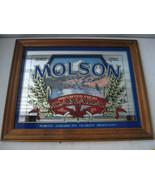 Vintage Molson Beer Bar Mirror Canada Ale North Americas Oldest Brewery - $39.59