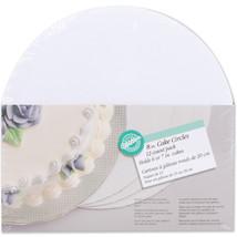 "Cake Boards-8"" Round White 12/Pkg' - $13.14"
