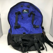 VTG Gregory Blue Black Hiking Backpack Sz Small Daypack Outdoor Camping ... - $197.99