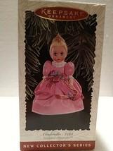 HALLMARK Keepsake 1995 CINDERELLA Madame Alexander Collector Series Orna... - $6.44