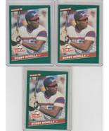 1986 Donruss The Rookies #30 Bobby Bonilla  Lot of 3 - $2.18