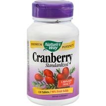 Nature's Way Cranberry Standardized - 120 Tablets - $12.68