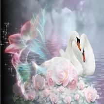 Swans/horse/Cat diy diamond painting cross stitch Needlework 5D diamond ... - $13.10