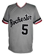 Cal Ripken Rochester Red Wings Baseball Jersey Grey Any Size image 3