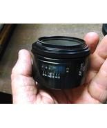 Minolta Maxxum AF 50mm 1:1.7 (22) 49mm dia Lens - Great Condition - $49.97