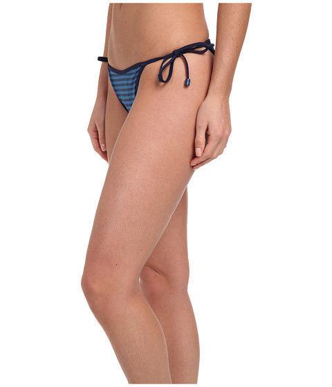 Marc by Marc Jacobs Radioactive Stripe String Bikini Blue Size XL MSRP $88.00